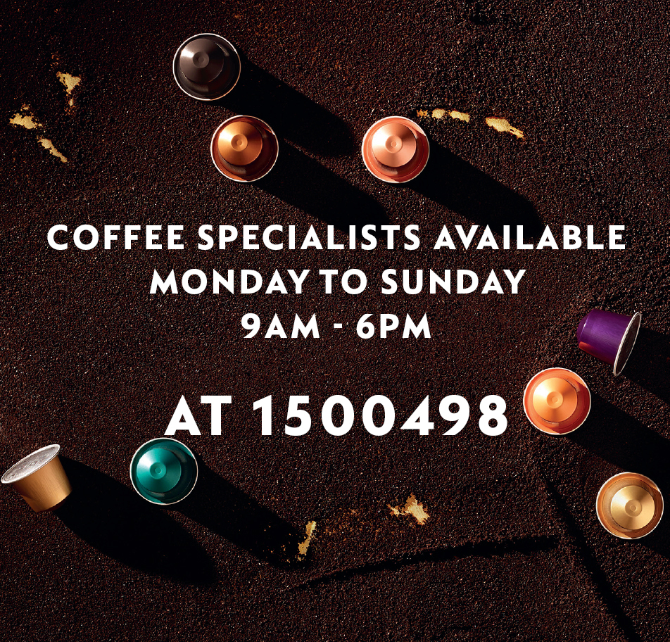 sign up as a nespresso club member now